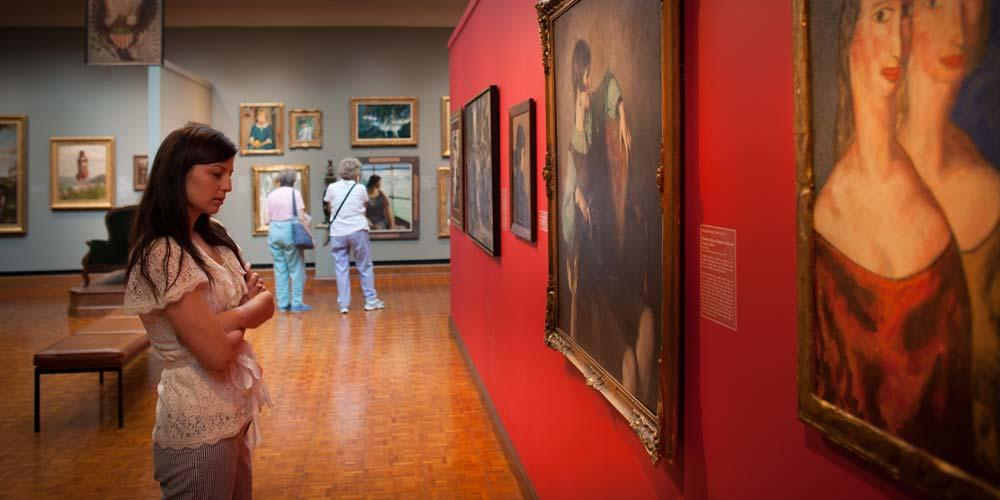 The Westmoreland Museum of American Art is a cultural treasure and a vital part of the community, stimulating imagination and innovation through great experiences with art.